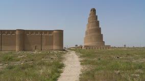 Πύργος Malwiya σε Samarra, Ιράκ στοκ εικόνες