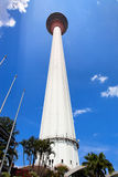 πύργος menara της Κουάλα Λου& Στοκ φωτογραφίες με δικαίωμα ελεύθερης χρήσης