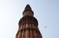 Πύργος Minar Qutub, Δελχί Στοκ Εικόνα