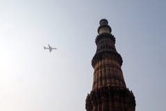 Πύργος Minar Qutub, Δελχί Στοκ φωτογραφία με δικαίωμα ελεύθερης χρήσης