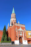 Πύργος Nikollskaya στη Μόσχα Κρεμλίνο Στοκ Φωτογραφία