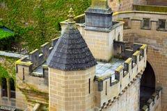 Πύργος Palacio πραγματικό de Olite Στοκ εικόνες με δικαίωμα ελεύθερης χρήσης