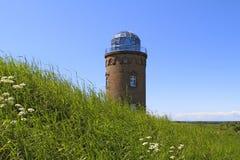 Πύργος Peilturm σε Kap Arkona, νησί Ruegen Στοκ Εικόνες