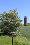 Πύργος Peilturm σε Kap Arkona, νησί Ruegen Στοκ Εικόνα
