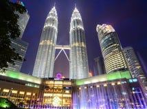 πύργος petronas της Κουάλα Λουμπούρ Μαλαισία Στοκ Φωτογραφίες