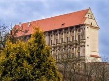 Πύργος Plumlov στη Μοραβία, Δημοκρατία της Τσεχίας Στοκ Εικόνα