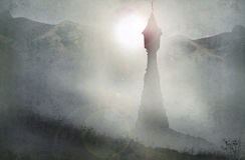 Πύργος Rapunzel Στοκ εικόνες με δικαίωμα ελεύθερης χρήσης