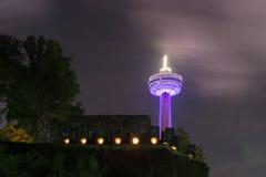 Πύργος Skylon - καταρράκτες του Νιαγάρα, Καναδάς Στοκ Εικόνα