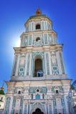 Πύργος Sofiyskaya τετραγωνικό Κίεβο Ουκρανία καθεδρικών ναών Αγίου Sophia Στοκ εικόνες με δικαίωμα ελεύθερης χρήσης