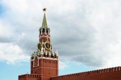 Πύργος Spasskaya της Μόσχας Κρεμλίνο Στοκ Εικόνα