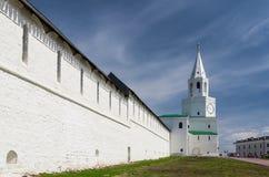 Πύργος Spasskaya Kazan Κρεμλίνο, Kazan, Ταταρία, Ρωσία Στοκ φωτογραφία με δικαίωμα ελεύθερης χρήσης