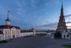 Πύργος Suyumbike Kazan πόλη, Ρωσία Στοκ εικόνες με δικαίωμα ελεύθερης χρήσης