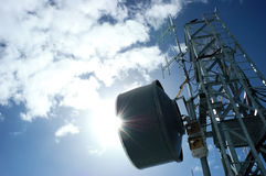 πύργος telecomunication Στοκ Εικόνα