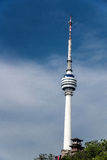 Πύργος Telvevision Στοκ εικόνα με δικαίωμα ελεύθερης χρήσης