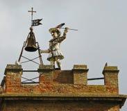 πύργος tuscan κωδωνοκρουστών κουδουνιών Στοκ Φωτογραφία