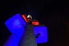 Πύργος TV, Πράγα Στοκ φωτογραφία με δικαίωμα ελεύθερης χρήσης