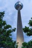 Πύργος TV πόλεων του Ντίσελντορφ στοκ εικόνα με δικαίωμα ελεύθερης χρήσης