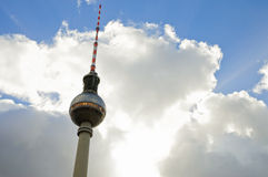 Πύργος TV του Βερολίνου Στοκ φωτογραφία με δικαίωμα ελεύθερης χρήσης