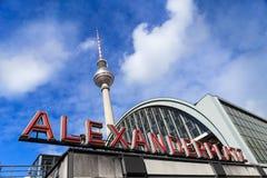 Πύργος TV του Βερολίνου στοκ εικόνα