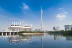Πύργος TV Guangzhou Στοκ Εικόνα