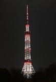 Πύργος TV Kyiv τη νύχτα στοκ φωτογραφία με δικαίωμα ελεύθερης χρήσης