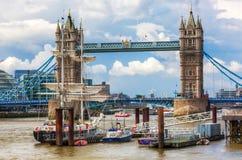 πύργος UK του Λονδίνου γεφυρών Στοκ Φωτογραφίες