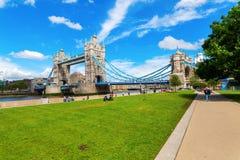 πύργος UK του Λονδίνου γεφυρών Στοκ εικόνες με δικαίωμα ελεύθερης χρήσης