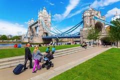 πύργος UK του Λονδίνου γεφυρών Στοκ Εικόνες