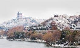 Πύργος yuejianglou του Ναντζίνγκ Στοκ εικόνα με δικαίωμα ελεύθερης χρήσης