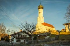 Πύργος Zwiebelturm κρεμμυδιών Στοκ εικόνες με δικαίωμα ελεύθερης χρήσης