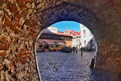 πύλες παλαιές Στοκ Εικόνες