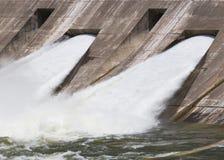 2 πύλες πλημμυρών Στοκ εικόνα με δικαίωμα ελεύθερης χρήσης
