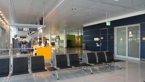 Πύλη αναμονής αερολιμένων Στοκ εικόνα με δικαίωμα ελεύθερης χρήσης