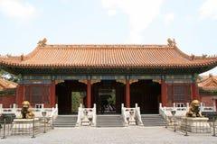 Πύλη - απαγορευμένη πόλη - Πεκίνο - Κίνα Στοκ εικόνα με δικαίωμα ελεύθερης χρήσης