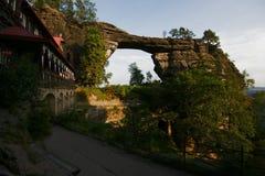 Πύλη βράχου Στοκ φωτογραφία με δικαίωμα ελεύθερης χρήσης