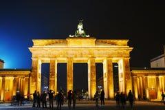 πύλη Γερμανία του Βερολίνου Βραδεμβούργο Στοκ Εικόνες