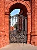 Πύλη εργοστασίων Poznanski Στοκ φωτογραφίες με δικαίωμα ελεύθερης χρήσης