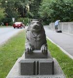 Πύλη λιονταριών στο πάρκο του Stanley Στοκ Εικόνα