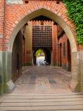 πύλη κάστρων μεσαιωνική Στοκ Εικόνες