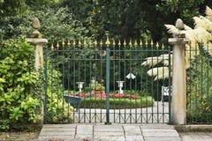 πύλη κήπων Ιταλία Στοκ εικόνα με δικαίωμα ελεύθερης χρήσης