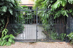 πύλη κήπων Στοκ εικόνες με δικαίωμα ελεύθερης χρήσης
