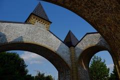 πύλη μεσαιωνική Στοκ Εικόνα