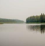 Πύλη ποταμών στον ποταμό ilych Στοκ φωτογραφίες με δικαίωμα ελεύθερης χρήσης