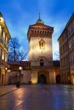 Πύλη πόλεων στην Κρακοβία Στοκ Φωτογραφίες