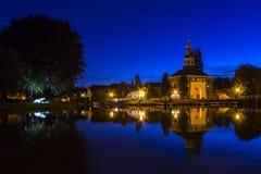 Πύλη πόλεων στο Λάιντεν, Ολλανδία Στοκ Φωτογραφίες