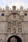 Πύλη πόλεων του Burgos Arco de Santa MarÃa Στοκ Φωτογραφίες