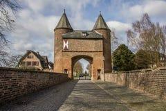Πύλη πόλεων Klever στην παλαιά ρωμαϊκή πόλη Xanten Στοκ Εικόνες