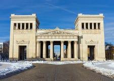Πύλη πόλεων Propylaea στο Μόναχο, Γερμανία Στοκ εικόνες με δικαίωμα ελεύθερης χρήσης
