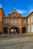 Πύλη ρολογιών Tampella Στοκ εικόνα με δικαίωμα ελεύθερης χρήσης