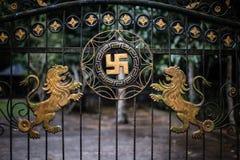Πύλη σε Pura Tirta Empul Στοκ φωτογραφία με δικαίωμα ελεύθερης χρήσης